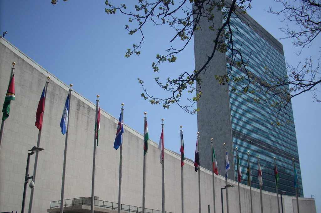 The Council Chambers in the UN Building – New York