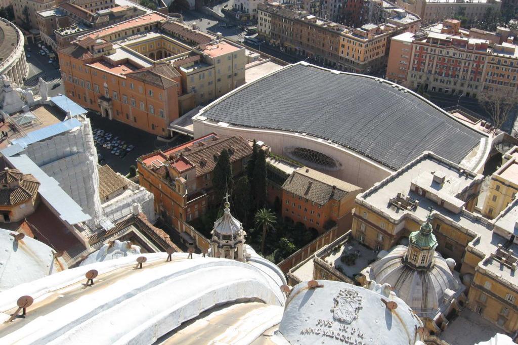 Aula Paolo VI – Aula Nervi