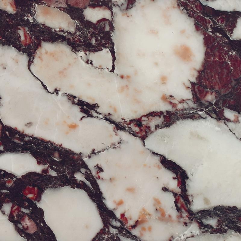 Breccia Rossa (Breccia Vagli Violetta)